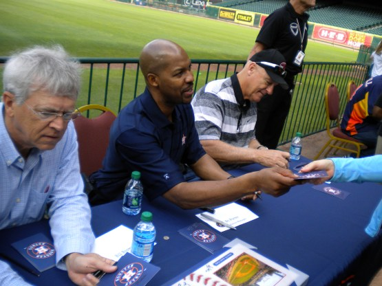 Bill Brown, Bo Porter and Art Howe