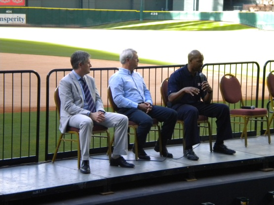 Jeff Luhnow, Bill Brown and Bo Porter talk baseball