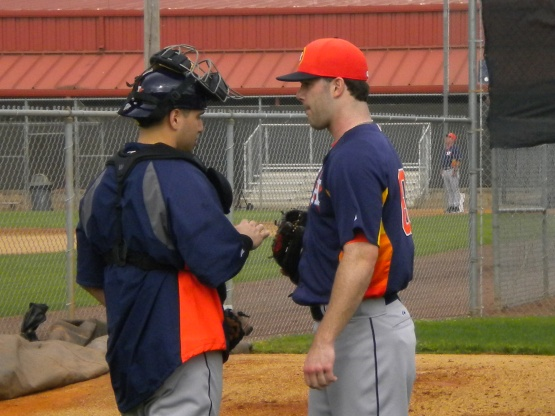Jason Jaramillo and Dallas Keuchel.