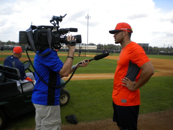 J.D. Martinez does an interview.