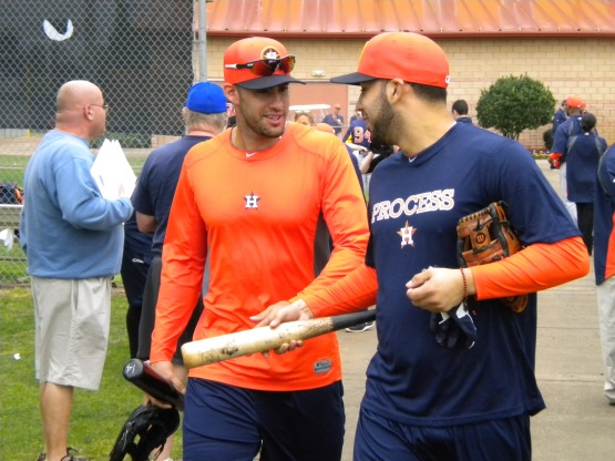 J.D. Martinez and Marwin Gonzalez head to hitting coaches.