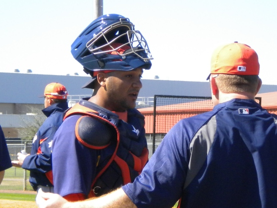 Carlos Corporan talks to Doug Brocail.