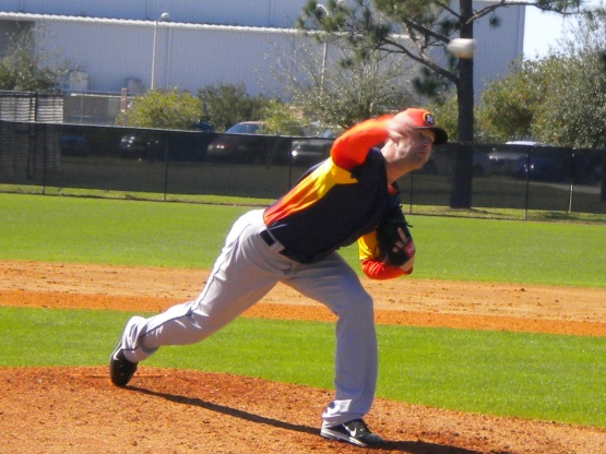 Jordan Lyles fires off the mound.