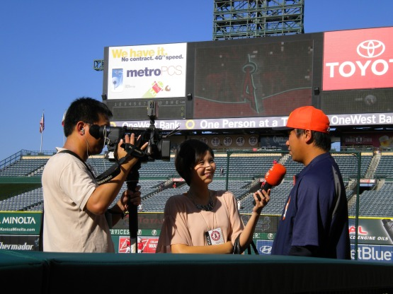 Chia-Jen Lo does an interview in his native language.